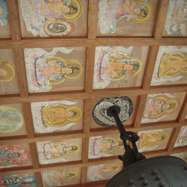梵鐘天井画
